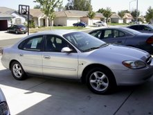 Ford Taurus - Picture of the car I bought.