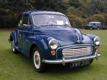 Morris Minor - Old car. Older than time itself