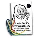 insomnia - Insomnia is a symptom of a sleeping disorder characterized by persistent 