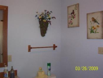 This is from another angle - This is the other side of the bathroom, right by the door