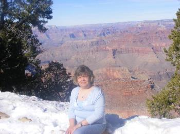 Me - This was taken at the grand canyon on New Years Eve. It is me enjoying nature.