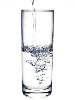 glass of water - a clean glass of water