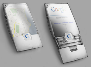 GPhone - Google gphone. This phone is made by google.