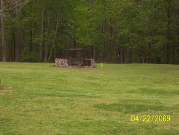 Our Backyard Fire Pit - We have soooo much more to burn that it'll be years before we're finally finished.