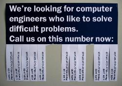Computer Engineers Wanted - If you can solve this, let me know.