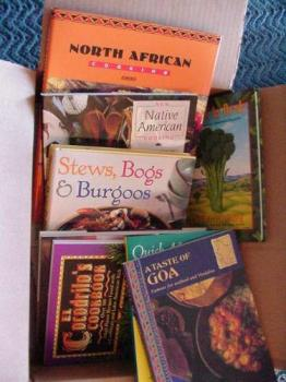 Photo courtesy PDPhoto.org - Books that are seemingly cool, would you read them all or not.