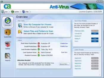 CA antivirus - This is the photograph for the CA antivirus