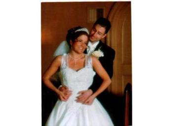 Wedding couple - Wedding, getting married, man and wife. My husband and I