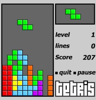 The game tetris - Do you like this game