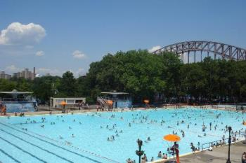 I love swimming - City pools and wave pools my summer hang out