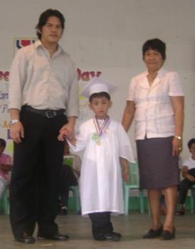 Graduation - My son's graduation