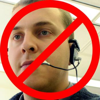 Telemarketers - This is an image to say no to telemarketers when they call.