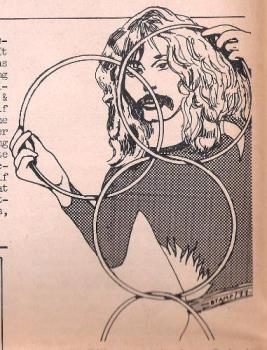 Doug Henning - Illustration I did of Mr Henning to accompany a review of his show in 1977.