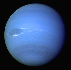 Neptune - Neptune is the eighth planet from the Sun in the Solar System. Named for the Roman god of the sea, it is the fourth-largest planet by diameter and the third-largest by mass.