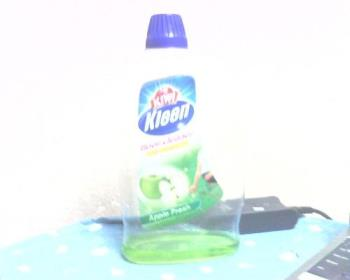 Kiwi Kleen - Kiwi Kleen - Floor Cleaner - Anti Bacterial - Apple Fresh - 2Litre. The photo attached - I snapped it beside my laptop computer just now. June 23, 2009_Monday_9.35pm.