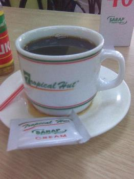 this is instant coffee - coffee in breakfast
