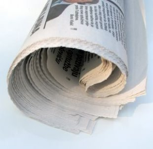 Newspapers - rolled Newspapers