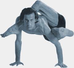 Yoga - A man do yoga