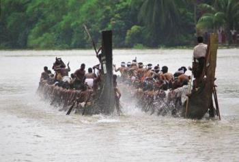 Boat race in Kerala - Boat race that is conducted every year.