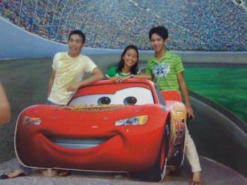 Lightning McQueen - From Cars movie