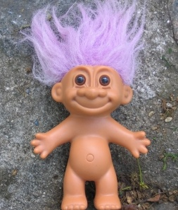 A Picture of a Troll  - a cute yet beautiful little Troll I treasured as a kid
