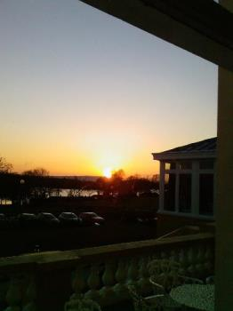 Fermanagh sunset - The view from where I work!
