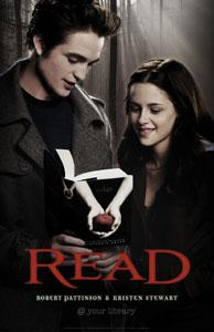 reading twilight - Edward and Bella