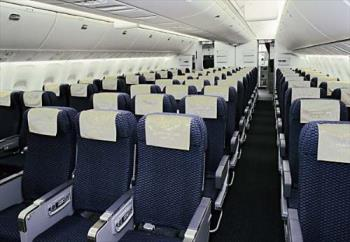 Airline Seating - Picture of Airbus airline seating