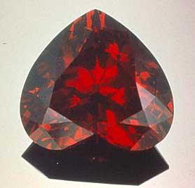 garnet - lucky stone
