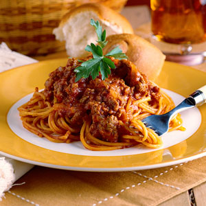 spaghetti - ate it only one time - i really liked the taste of spaghetti , but miss it as i donot know the process to cook it