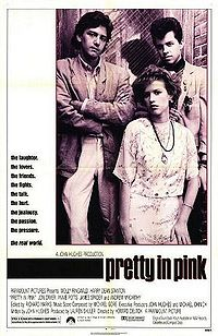 Pretty in Pink - This is a photo of the cast in the movie Pretty in Pink by John Hughes