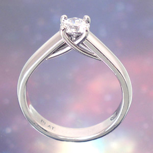 engagement ring - a way to a woman's heart