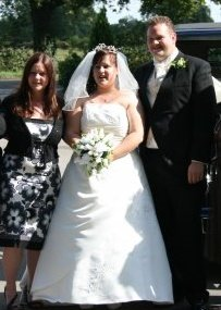 My Daughter, Bride and Groom - This is one of the Photos of the Wedding