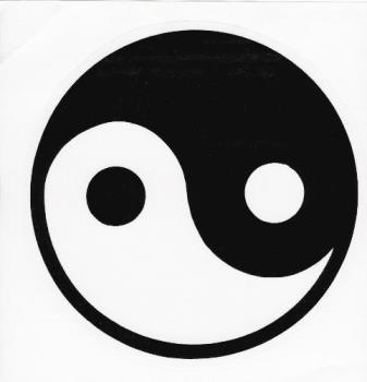 Yin Yang Balance Symbols