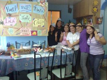 orkut -philippines - a birthday celebration for orkut friends