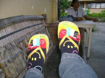 funny socks  - socks with left and right