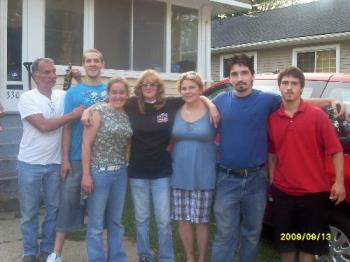 Us and Some of Our Kids - Get together with some of the family last week