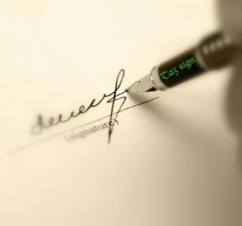 Signature - Sign