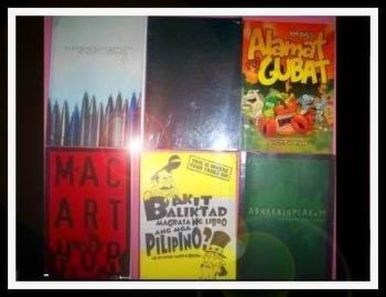 My Bob Ong Books - These are some of my books by Bob Ong. Onwe of the best selling books here in the Philippines.