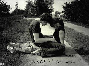 Love you forver - its a romantic photo