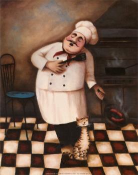 chef cartoon clip art - humble chef