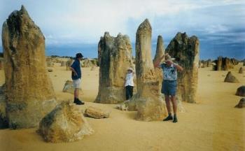 Pinnacles - The Pinnacles in Western Australia