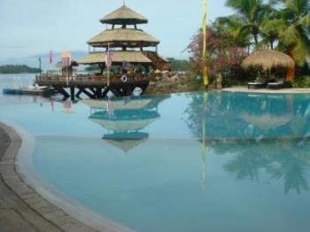 beach resort - beach resort with swimming pool, Philippines