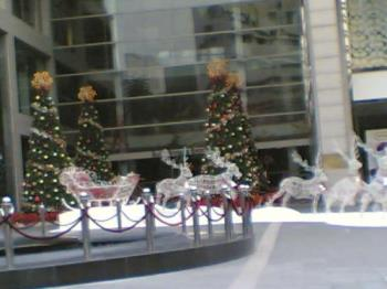 Christmas Trees and Reindeers - Snapped this photo in front of Pavillion, KL