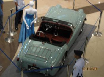 car - another vintage car seen on a mall show