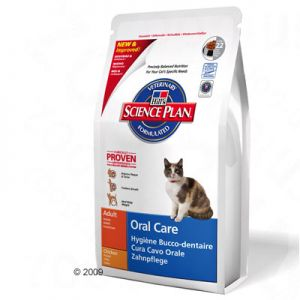 Hills oral care - Premium food by Hills that prevents oral problems for cats.