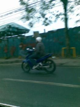 motorcycles - some snatchers are now using motorcycles in their illegal acts as they victimize pedestrians