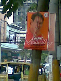 campaign poster - poster of a presidential candidate in our country