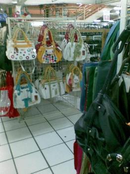 bags - varied bags on display in a store