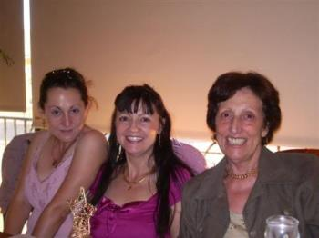 family shot - My sister, me and my mum.